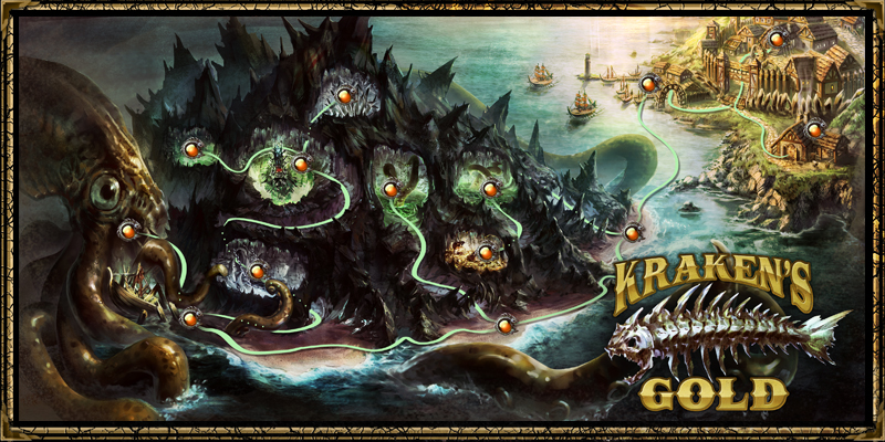 dungeon krakens gold